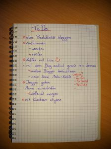 eine Beispielliste